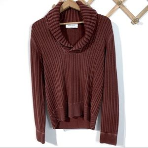 Yves Saint Laurent Cashmere Shawl Collar Sweater